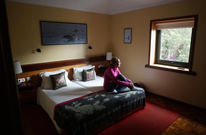 Nuestro dormitorio en Aldeia da Fonte