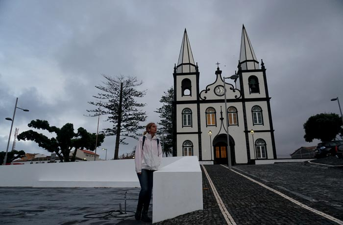 Iglesia de Madalena Pico Azores