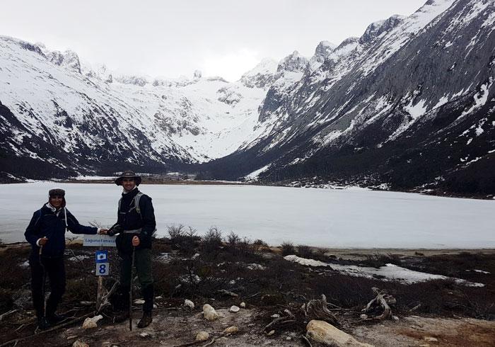 Laguna Esmeralda que hacer en Ushuaia