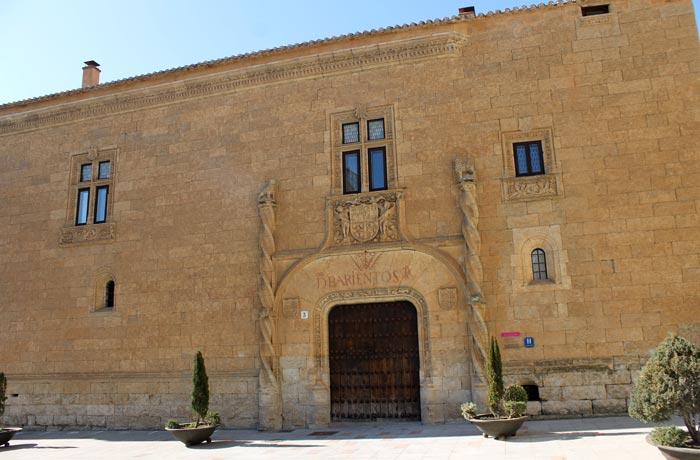 Palacio de Montarco que ver en Ciudad Rodrigo