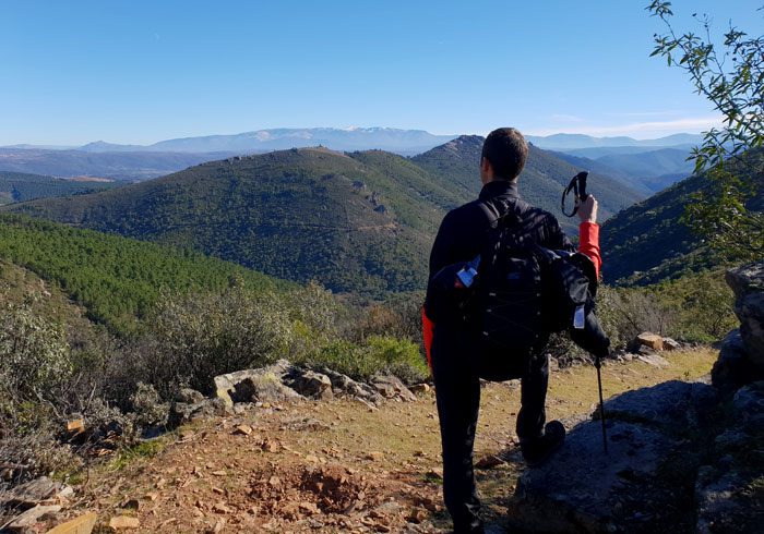 Panorámica desde uno de los puntos más elevados de la ruta Valle de Belén