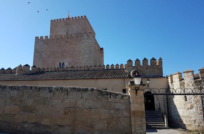 Alcázar de Enrique II de Trastamara, actual Parador de Ciudad Rodrigo