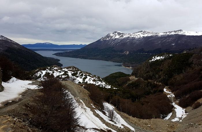 Lago Escondido desde el paso Garibaldi que hacer en Ushuaia