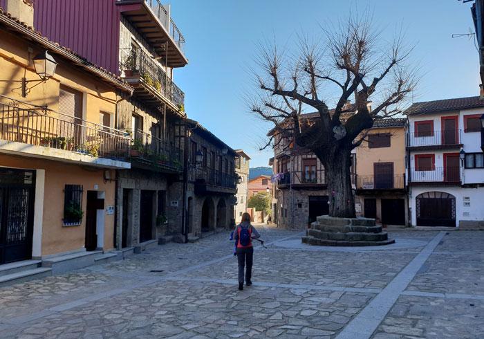 Plaza Mayor de Herguijuela de la Sierra