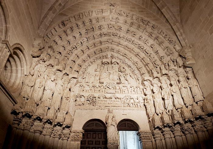 Pórtico del Perdón de la catedral de Ciudad Rodrigo
