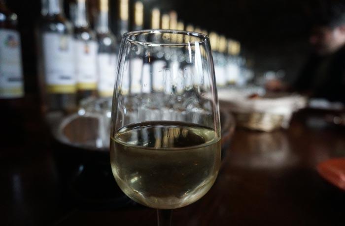 Vino blanco de Pico