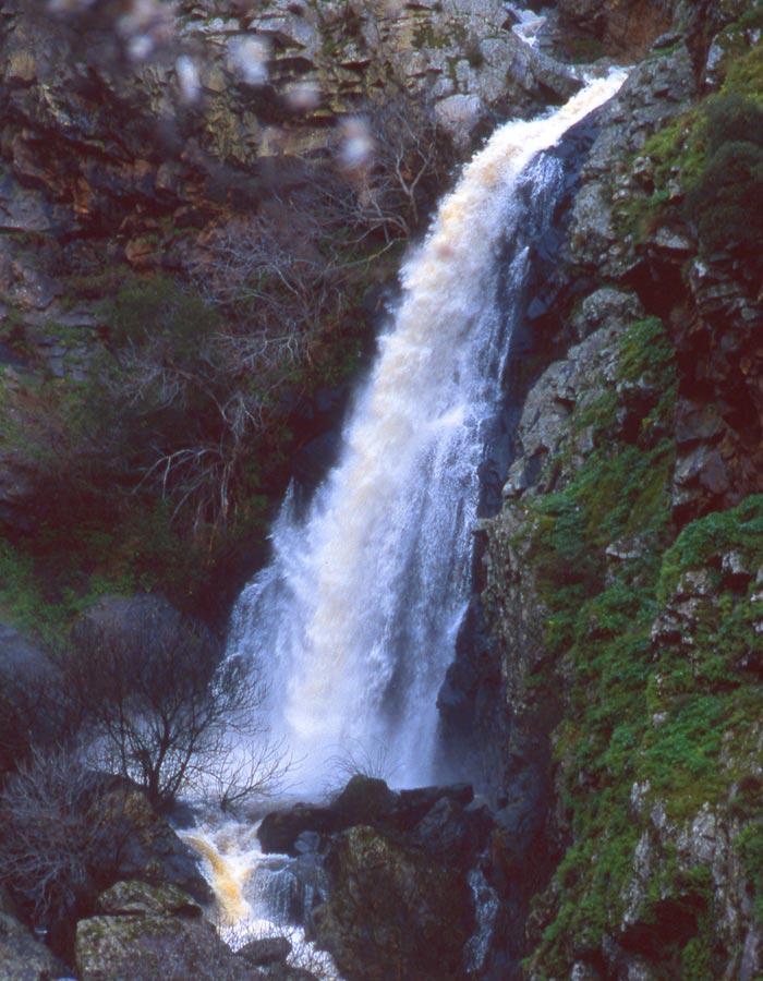 Cachón de Carranzo cascadas de Salamanca