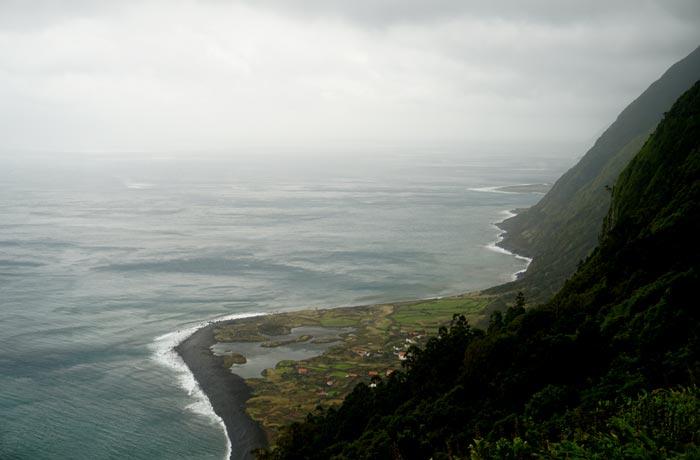 Faja dos Cubres Sao Jorge Azores
