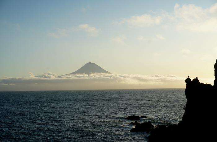 La Montaña de Pico desde el Sao Jorge Garden Hotel