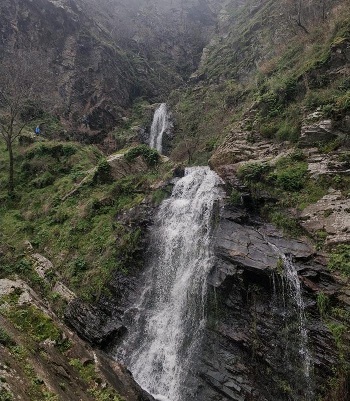Otra vista de la cascada de Remolino