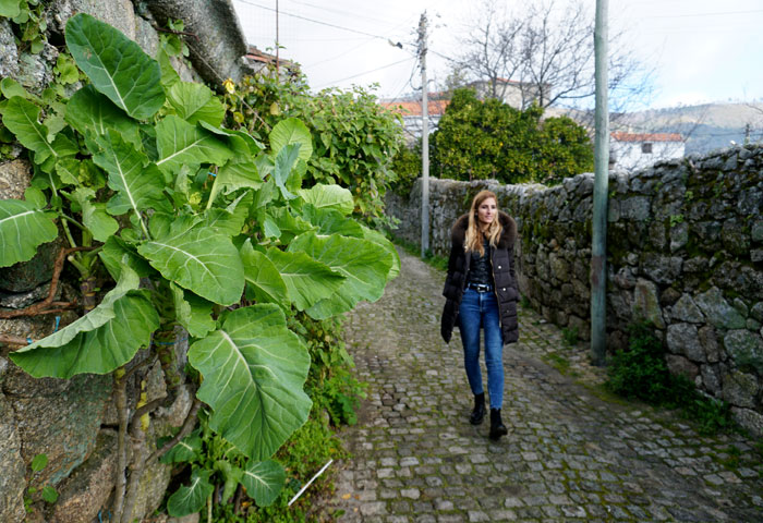Una calle de Alpedrinha