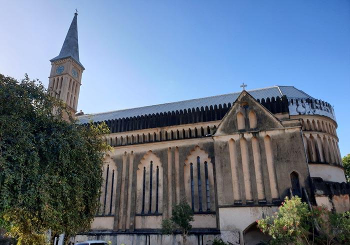 Catedral Anglicana que ver en Stone Town
