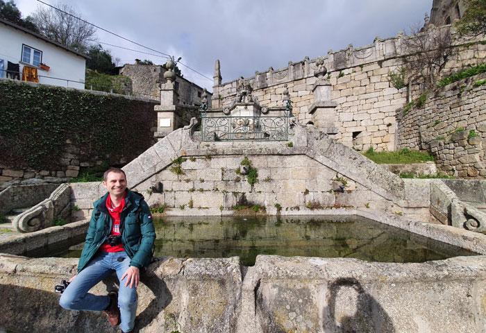 Chafariz de Joao V en Alpedrinha qué ver en Fundão