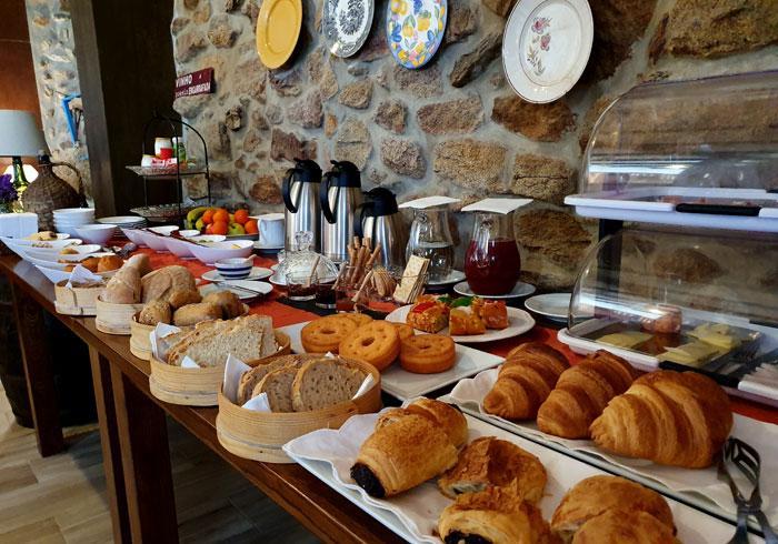 Desayuno de las Casas do Juizo