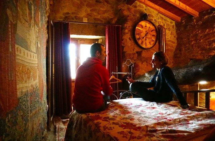 Nuestra habitación en las Casas do Juizo