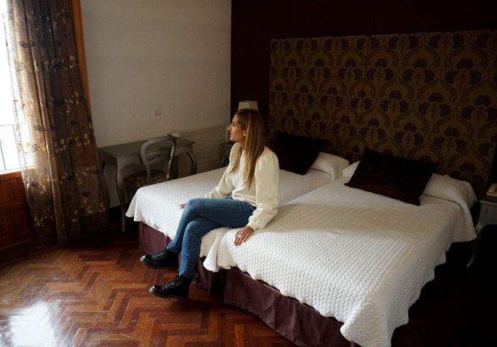 Nuestra habitación del hotel II Virrey Palafox