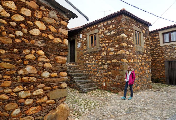 Casas típicas de Janeiro de Cima
