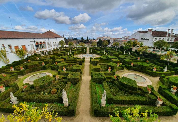 Jardín del Palacio Episcopal de Castelo Branco