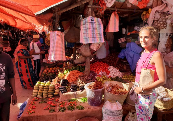Zona de las especias en el mercado Darajani que ver en Stone Town
