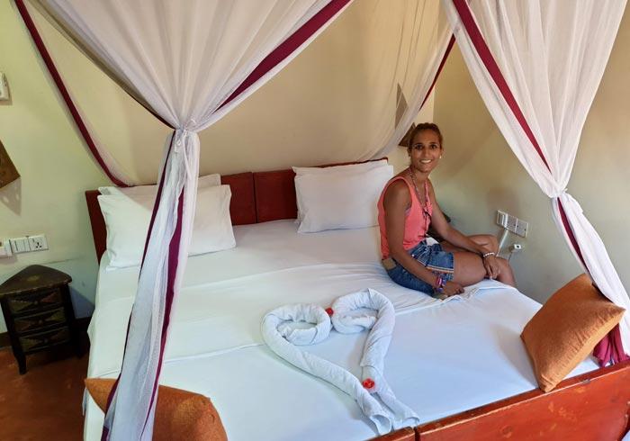 Nuestra habitación del Rumaisa Hotel en Stone Town