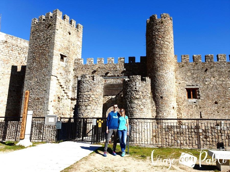 Castillo de San Vicente de Montemayor del Río pueblos más bonitos de Salamanca