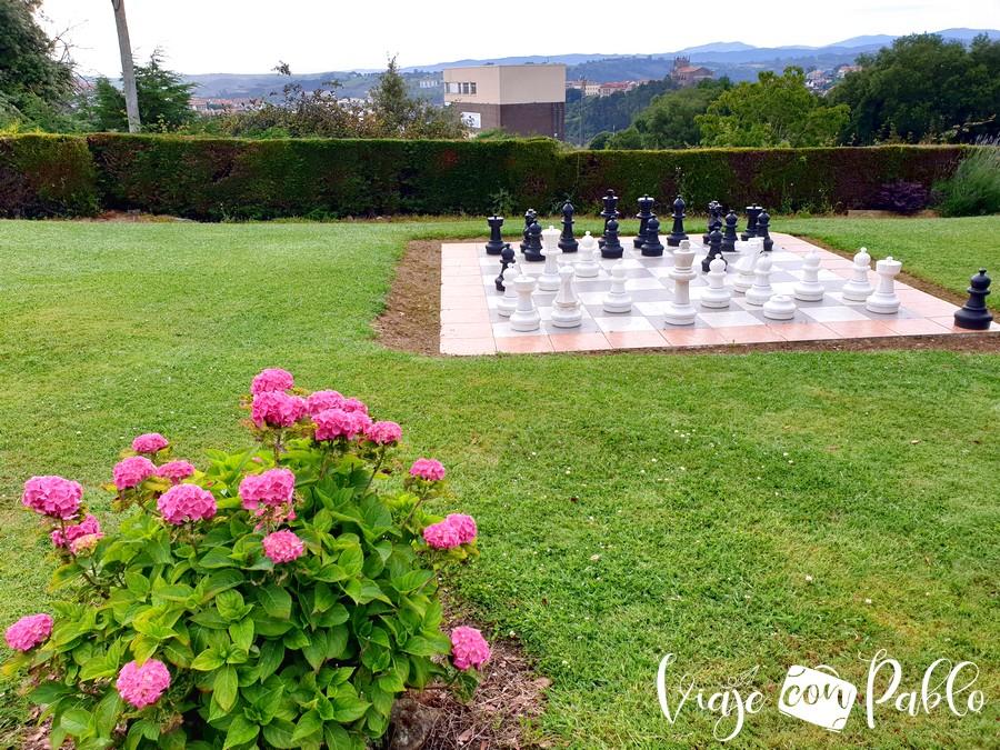 Jardín de los alojamientos El Páramo