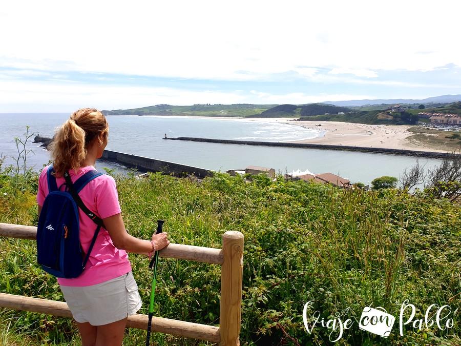 Vistas desde el faro de Punta Silla