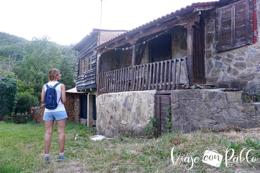 Vivienda típica de Omaña en La Omañuela