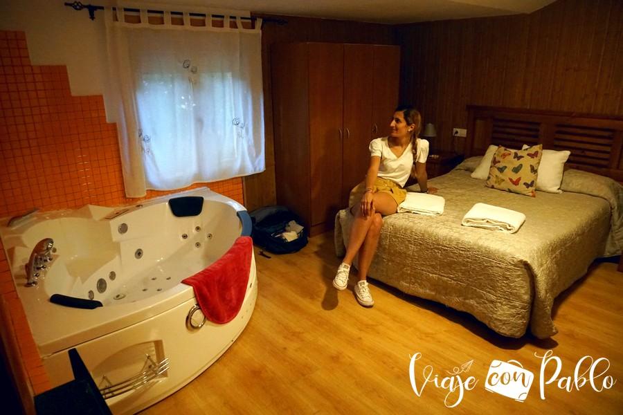 Nuestra habitación de la casa rural Aguas Frías