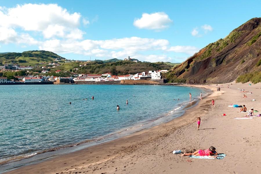 Playa de Porto Pim que ver en Faial