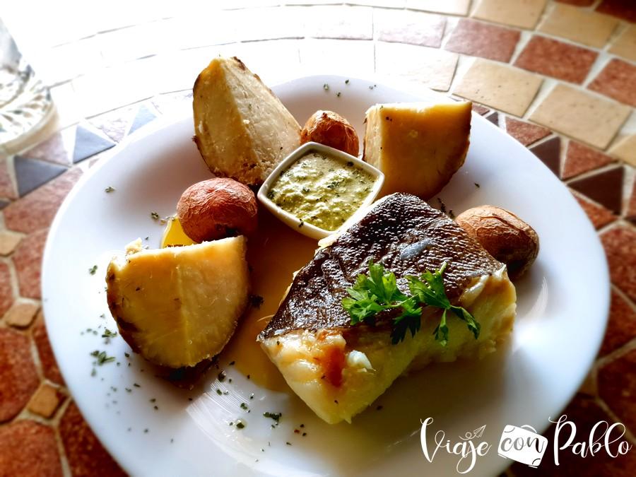 Bacalao cocinado de El Mesón