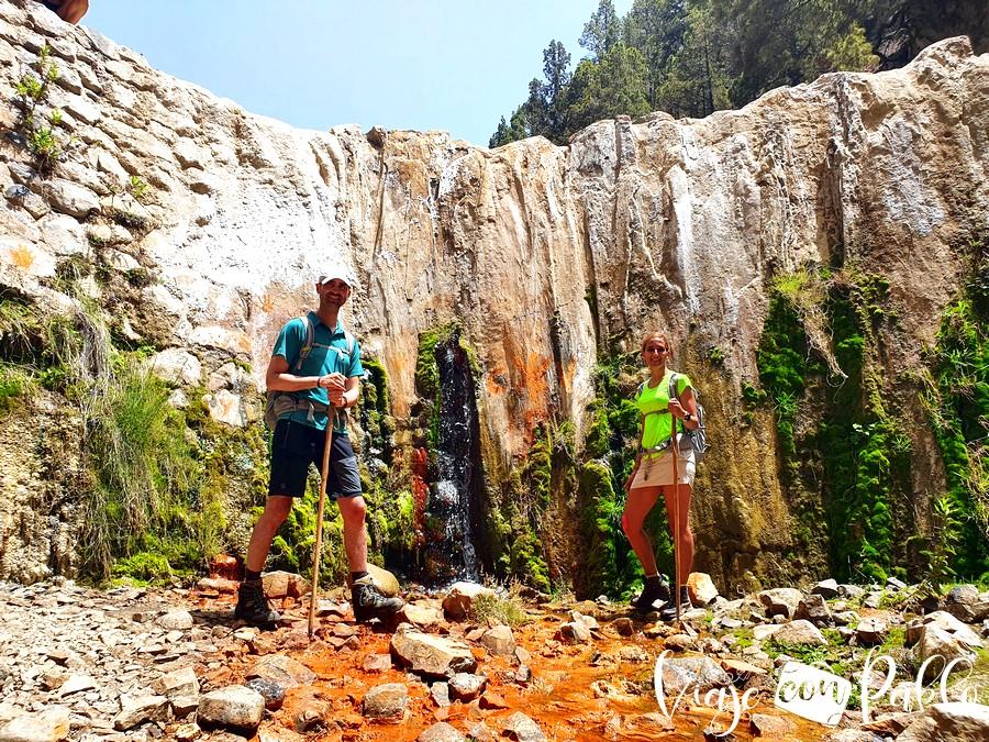 Cascada de Los Colores La Palma en una semana