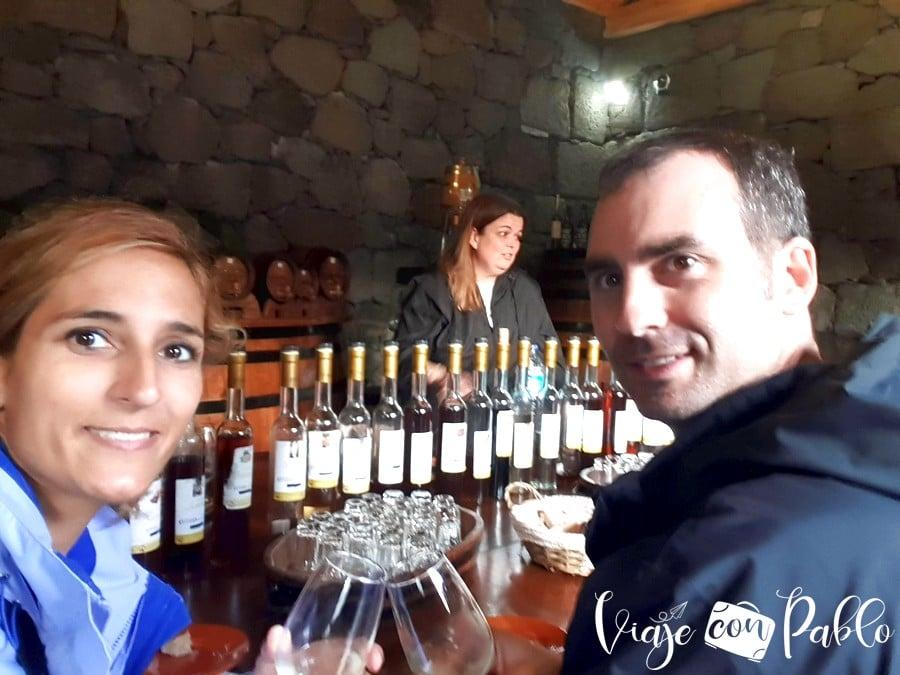 Cata en A Buraca ruta del vino de pico