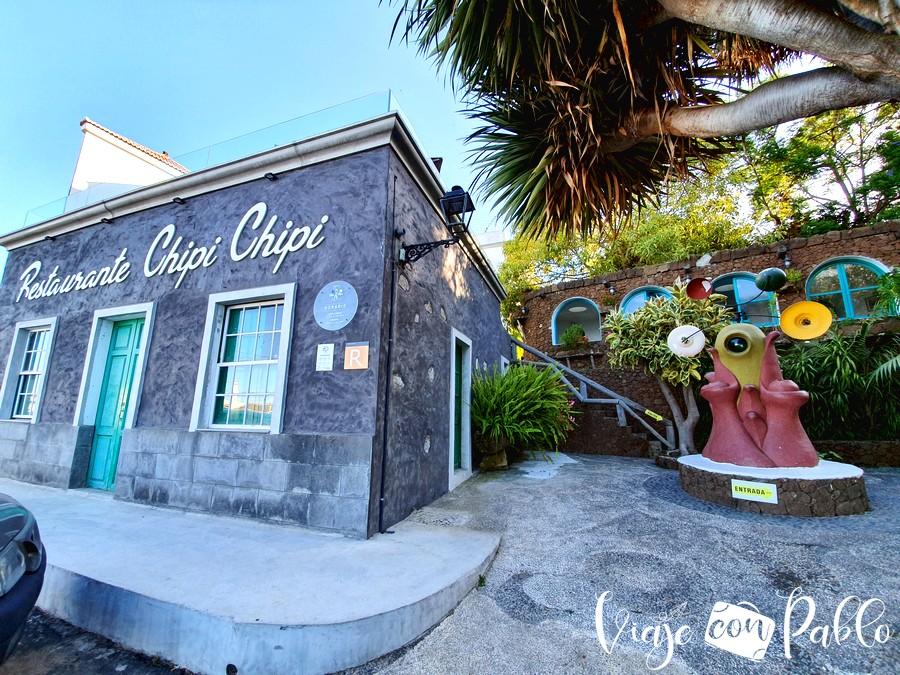 Exterior del restaurante Chipi Chipi