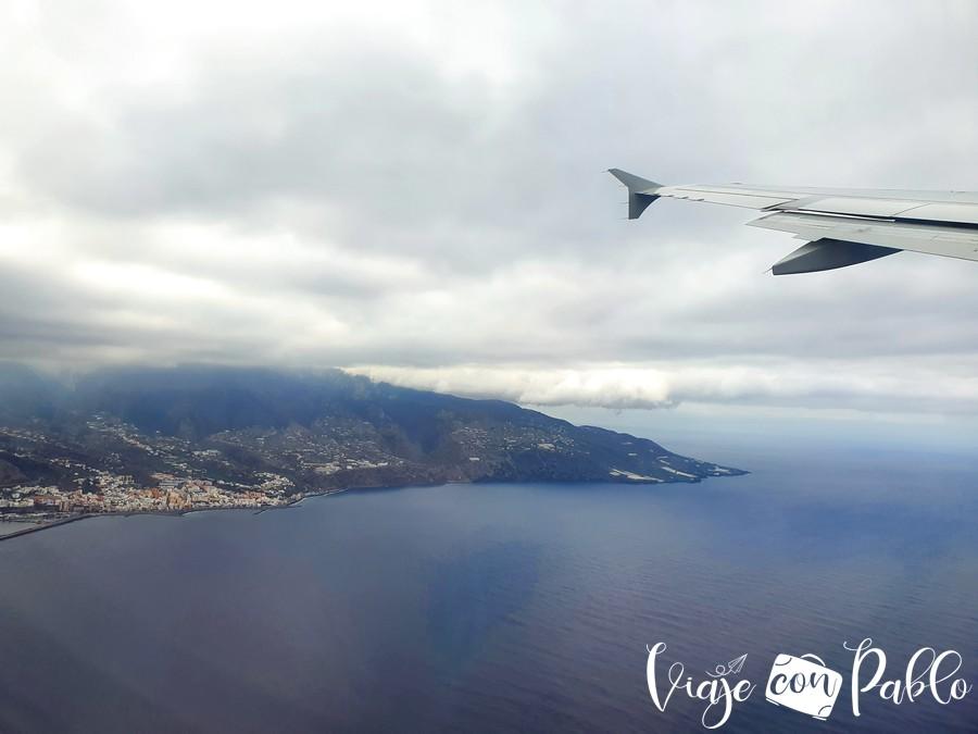 La Palma, desde el aire