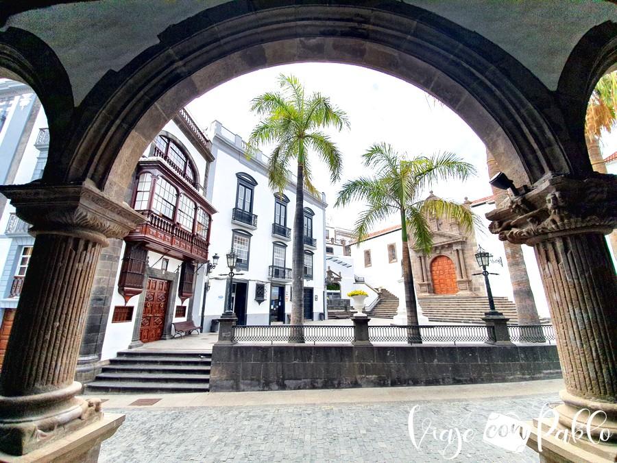 Plaza de España de Santa Cruz de La Palma