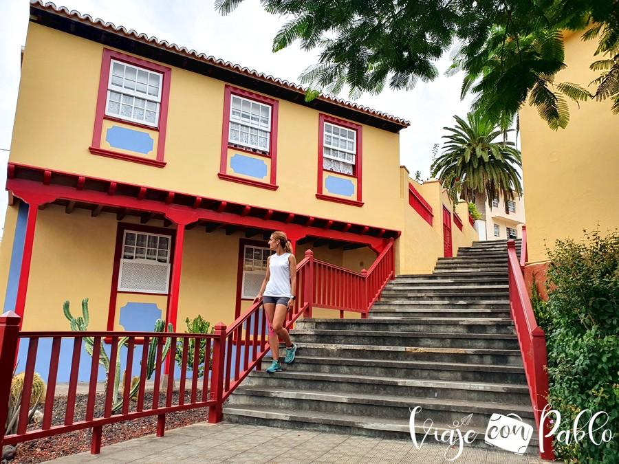 Una vivienda típica de San Andrés