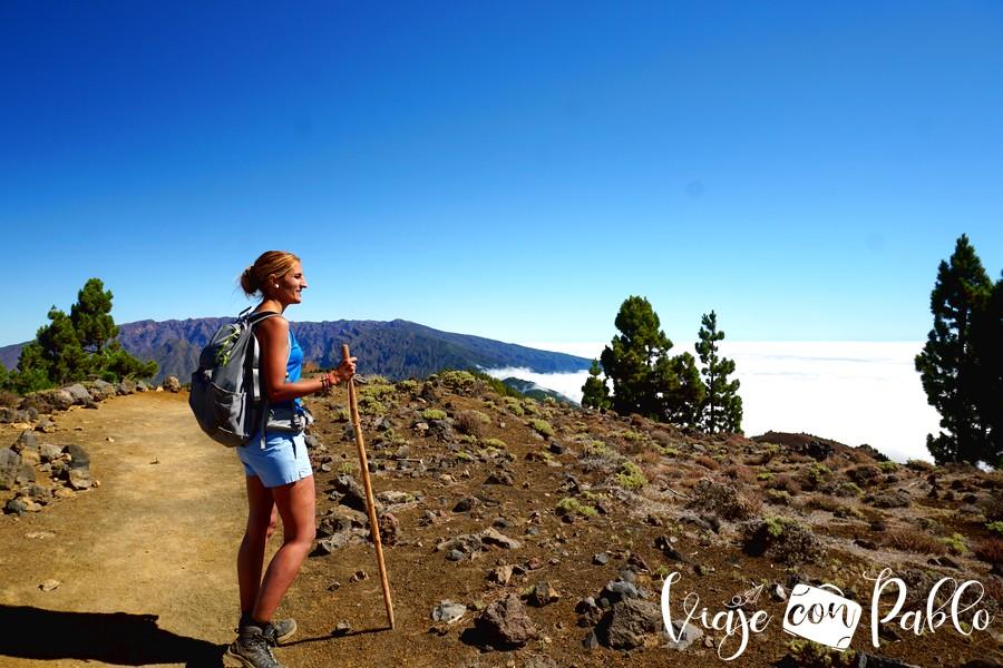 Mar de nubes y cumbres de La Palma