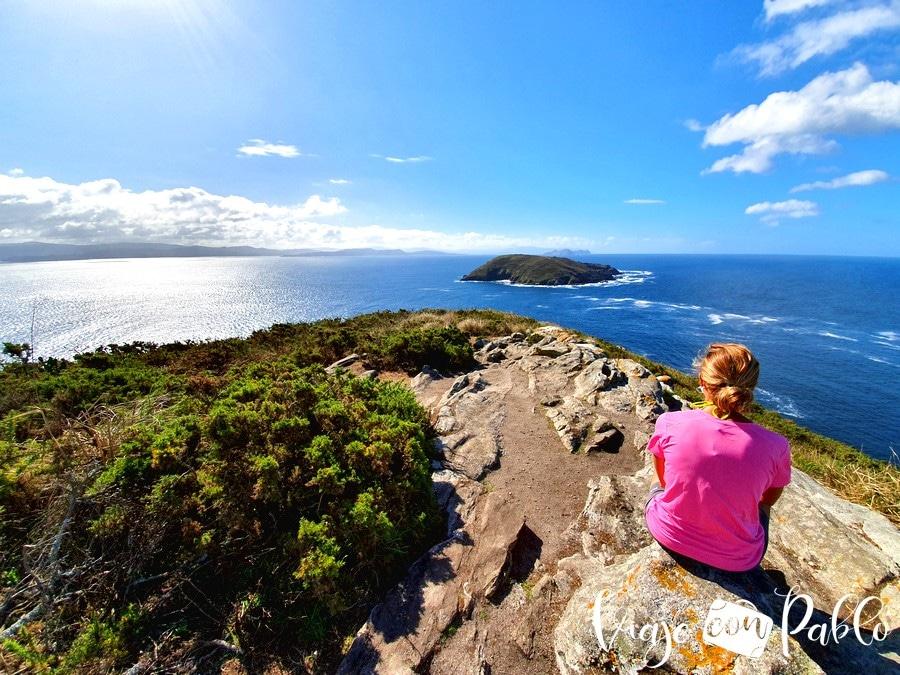 Mirador de Fedorentos como llegar a la isla de ons