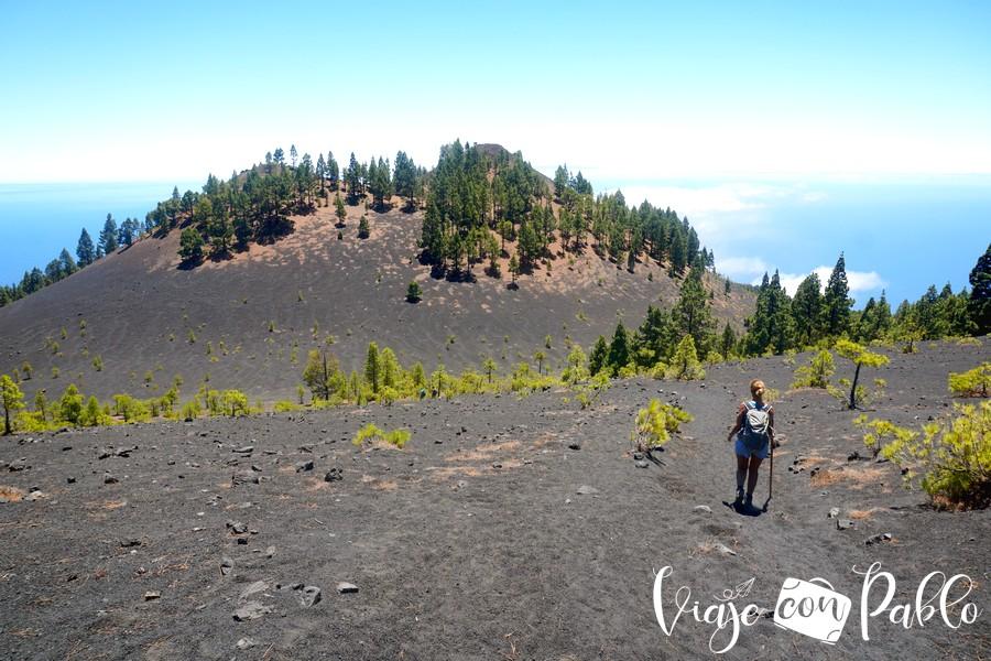 Paisaje de la ruta de los Volcanes