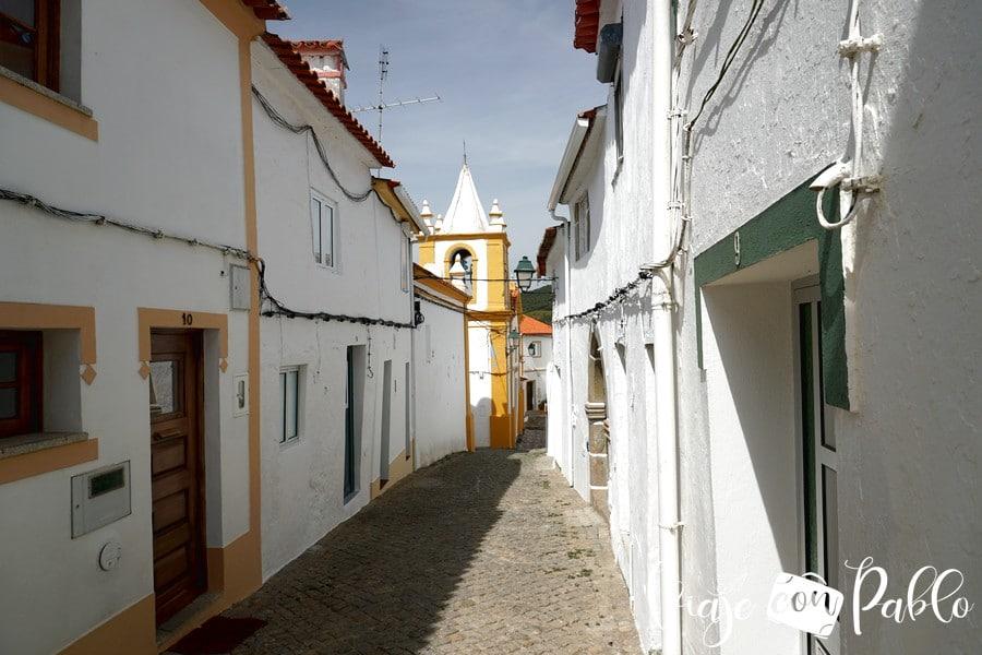 Una de las calles de Alegrete