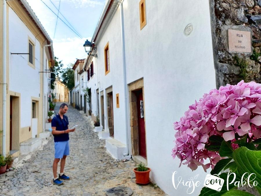 Una de las calles del Burgo Medieval de Castelo de Vide