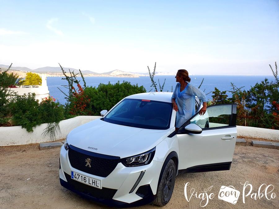 Nuestro coche de alquiler en Ibiza de Autos Marí