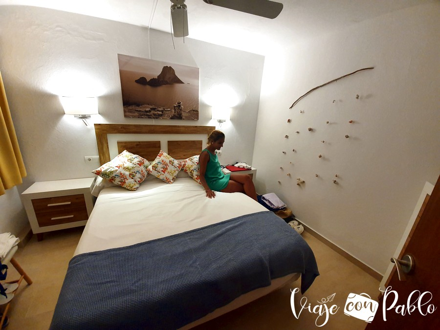 Nuestra habitación del hostal Manolita
