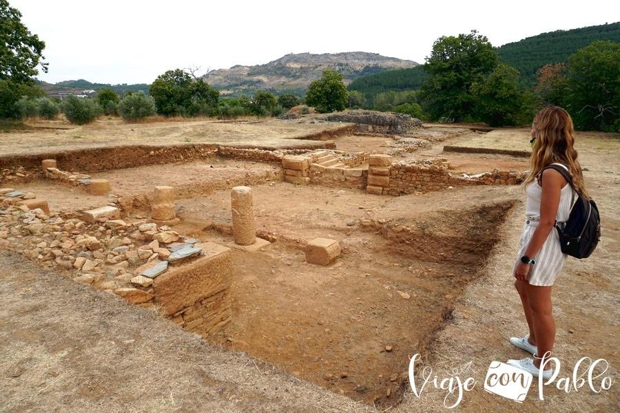 Ruinas de la ciudad romana de Ammaia