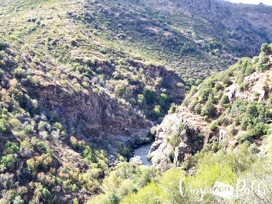 Cañón del río Tormes
