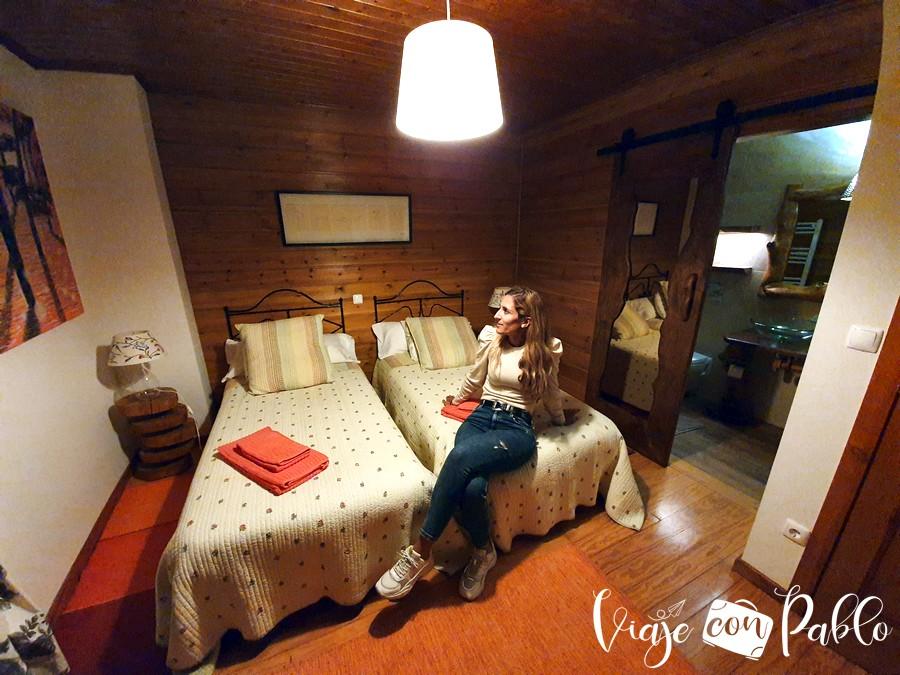 Nuestra habitación en Ecotura Country House