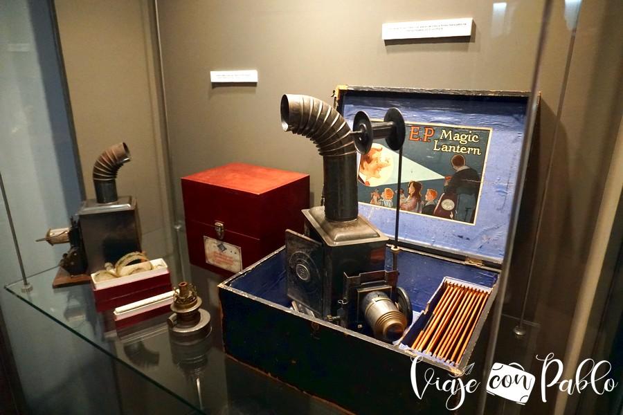Uno de los objetos del Museo de Cinema Jean Loup Passek