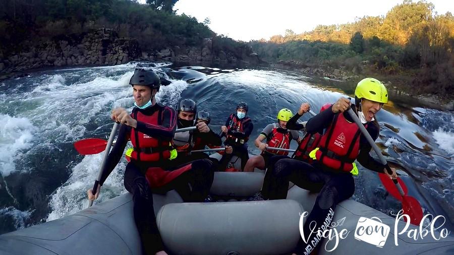 rafting en Melgaço