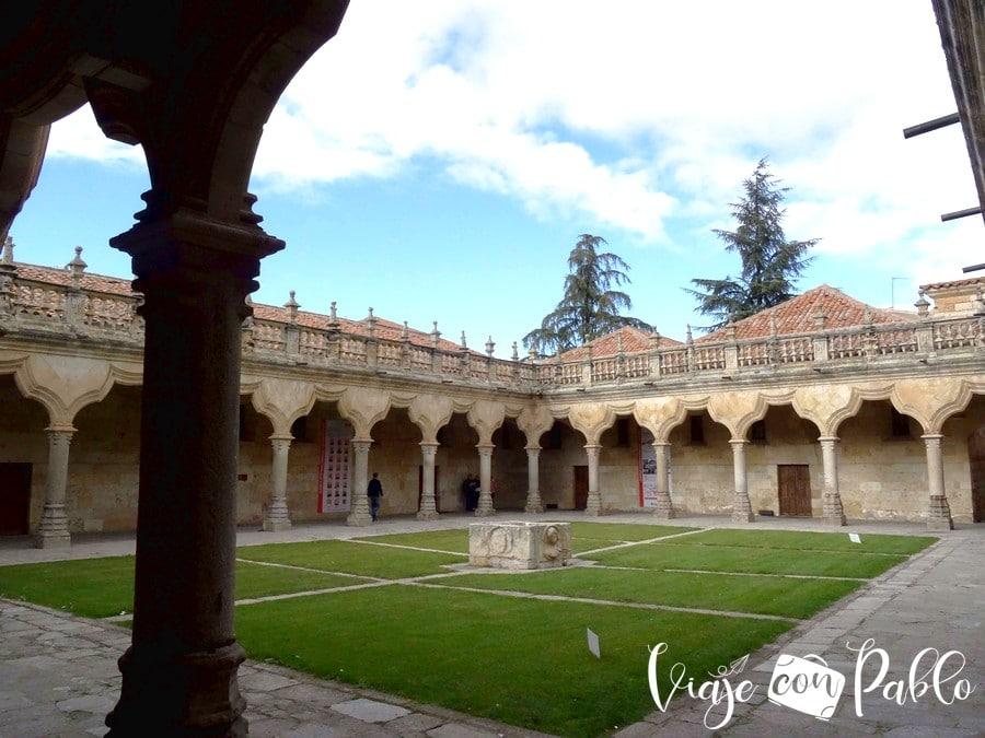 Patio de Escuelas Menores de la Universidad de Salamanca
